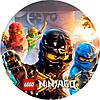 Ниндзяго Лего 24 Вафельная картинка