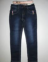 Джинсовые брюки на флисе для девочек  Seagull,134,140,146,152,158,164 pp.