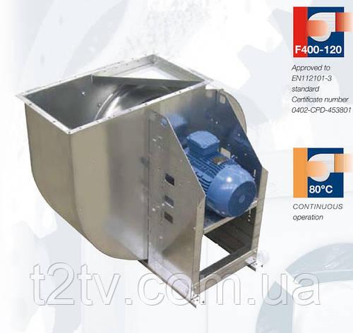 Центробежный вентилятор одностороннего всасывания среднего давления (до +300°C и  +400°C/2 часа) Soler & Palau CXRT/6-450-0,37KW RD000 *230/400V 50*