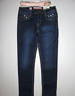Джинсовые брюки на флисе для девочек  Seagull 152 РР