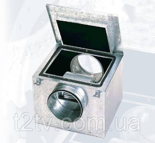 Центробежный вентилятор в шумоизолированном корпусе с загнутыми вперед лопатками) Soler & Palau CAB-250 N *230V 50/60* VE