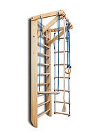 Спортивная шведская стенка в квартиру Фаворит 220/ 240 см