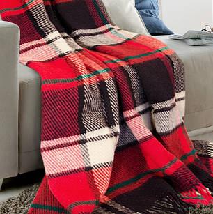 Плед из Новозеландской шерсти ТМ Ярослав, 130х180 см., фото 2