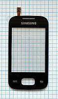 Тачскрин сенсорное стекло для Samsung S5300 Galaxy Pocket black