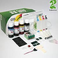 СНПЧ CW Epson XP313/413/103/203 (XP413CC-4.5B) (4х50 мл) с батарейкой