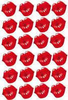 Любовь 55 Вафельная картинка