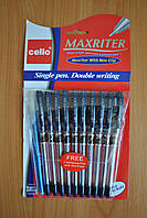 Ручка шариковая масляная MaxRiter + бонус