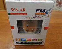 Музыкальная портативная колонка WS-A8 , фото 1