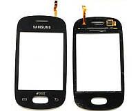 Тачскрин сенсорное стекло для Samsung S5312 Galaxy Pocket Neo Duos black