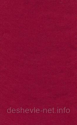 Фетр листовой (вискоза) 20х30 см, Красный темный, 150 г/м2, Knorr Prandell, 258, фото 2