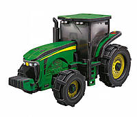 "Объемный пазл. Сборная игрушка Трактор ""John Deere 8420"". Материал: картон + изолон. Формат: midi"