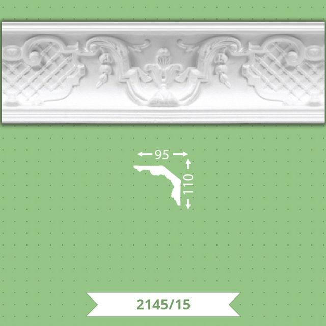 Плинтус потолочный B-2145-15
