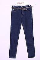 Женские  утепленные джинсы больших размеров(код 8624b)