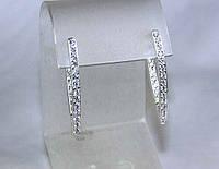 Серьги серебро 925 пробы АРТ275, фото 1