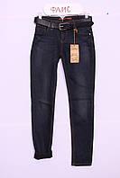 Женские  утепленные джинсы больших размеров(код 2896С)