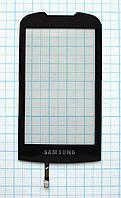 Тачскрин сенсорное стекло для Samsung S5560 Marvel black
