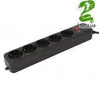 Фильтр питания Gembird Power Cube 5 розеток 3м (SPG5-G-10B) черный