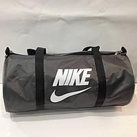 Спортивная дорожная сумка Nike Темно-Серый белая   оптом