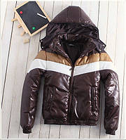 Теплая Куртка  коричневая весна-осень