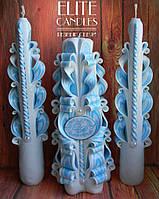 Именной свадебный набор №1044 под заказ в любом цвете, в тон вашей свадьбы
