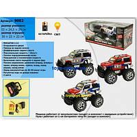 Машинка-джип на радиоуправлении для детей аккумулятор от сети Joy Toy 9002+5