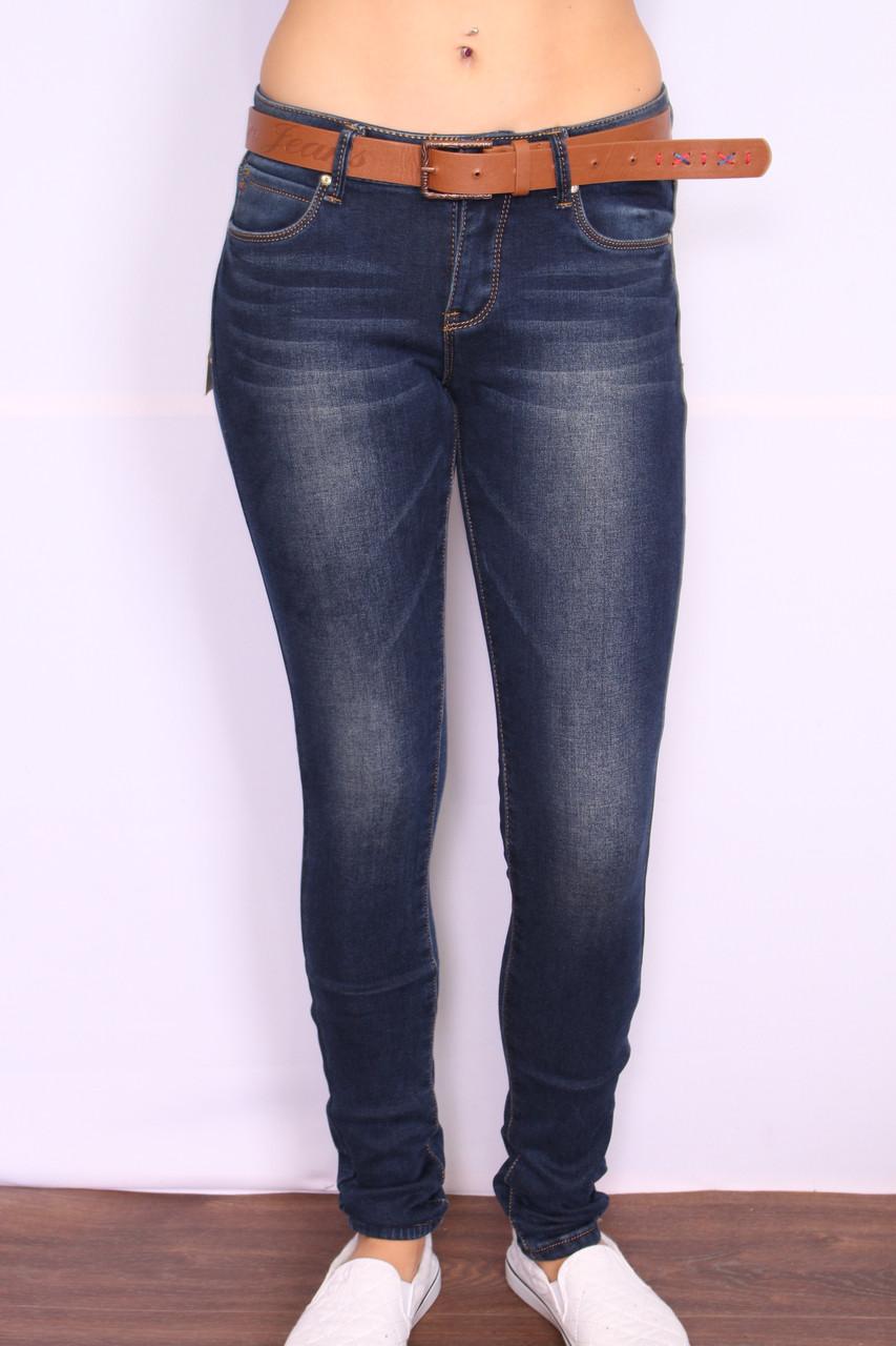 Женские утепленные джинсы на флисе  Cudi(код 9953)