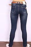 Женские утепленные джинсы на флисе  Cudi(код 9953), фото 3