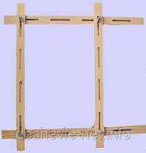 Рамка для росписи ткани 65*65, регулируемая, ТМ 'Albero'