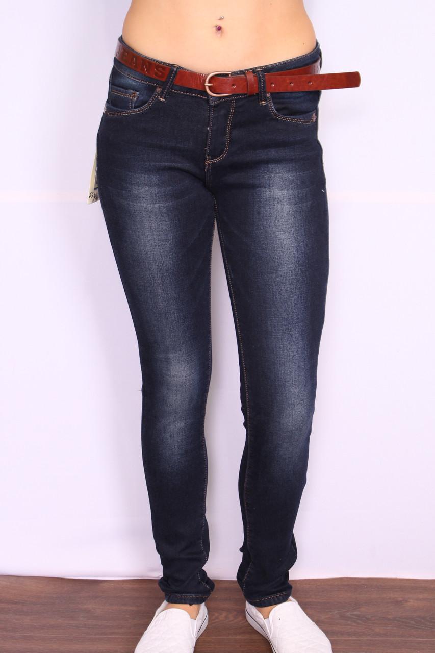 Женские утепленные джинсы на флисе  Cudi(код 9956)