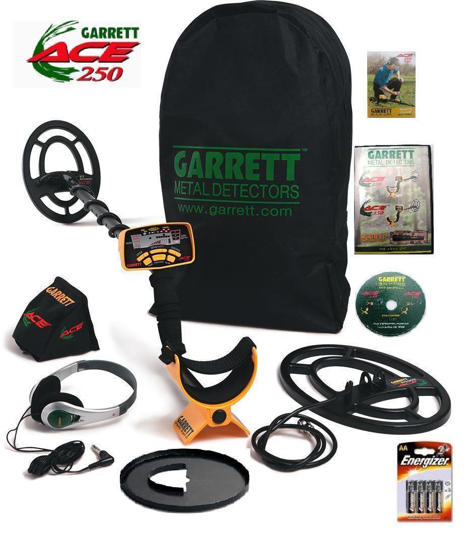 Металошукач Garrett АСЕ 250 та 5 подарунків