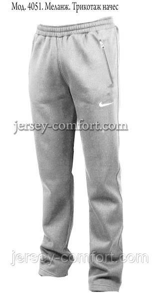 Утепленные зимние  мужские брюки- трикотаж-начес. Разные цвета.