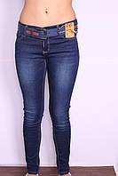 Женские утепленные джинсы на флисе  (код 2333)