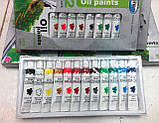 Масляные краски ТМ Centrum, в тубах 12 цветов, 12мл. (Германия), фото 5