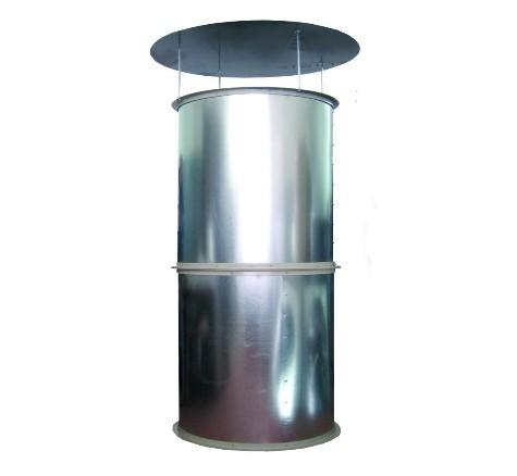 Вентиляционная башня шахта приточная вытяжная вентиляция птичника коровника