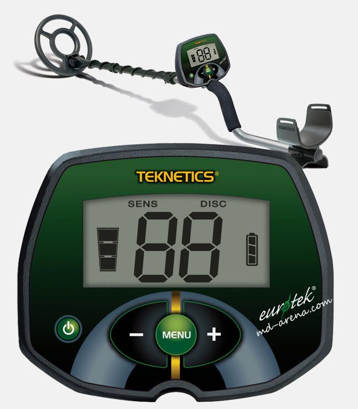 "Металошукач Teknetics Eurotek 8"" + чохол на блок"