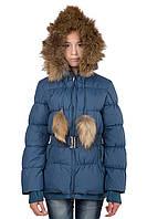 Пуховая куртка девчку Кико 8-16 лет