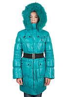 Пуховое пальто на девочку Кико 10-14 лет
