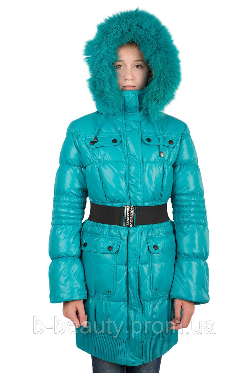 93f2846289b Пуховое пальто на девочку Кико 10-14 лет  продажа