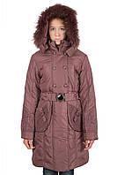Пальто зимние на девочку РМ 9-14 лет