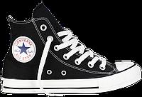 Кеды Converse All Star Hi Чёрные, фото 1