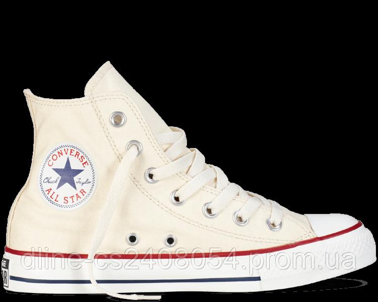 Кеды Converse All Star High Молочные
