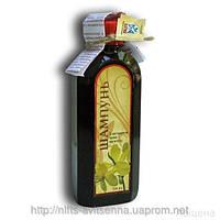Лечебный шампунь с экстрактом листьев чистотела