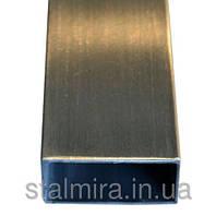 Профильные н/ж трубы шлифованные, AISI 304, 04Х18Н