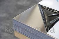 Лист нержавеющий AISI304 1,2 (1000х2000мм) BA+PVC