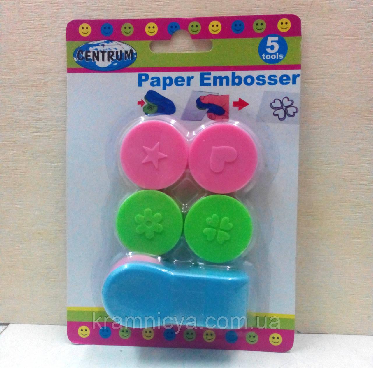 Пресс для тиснения бумаги и фольги с разными насадками