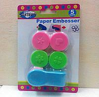 Пресс для тиснения бумаги и фольги с разными насадками, фото 1