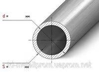 Труба н/ж 101,6х4,0 tig круглая матовая AISI 304 с