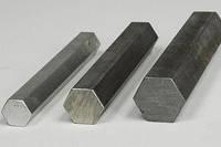 Шестигранник стальной сталь 3, 20, 35, 45, ст 65Г