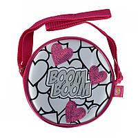 "Творчество и рукоделие «Color Me Mine» (6379137) Міні-сумочка ""Color Me Mine з блискітками. Серця"", 15 см, 4 маркери, 6+"