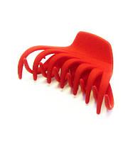 Заколка для волос крабик каучук-12 шт.- 8,5 см.